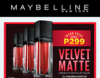 Maybelline Projects