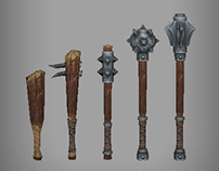 In-game Weapon sets