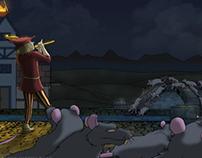 Fairy Tale Square: Pied Piper