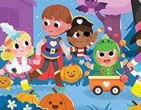 Halloween Flip-a-Flap book!