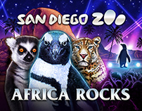 Africa Rocks - San Diego Zoo Artwork