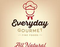 EVERYDAY GOURMET logo design