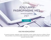 Luxury consierge UI/UX