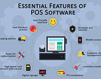 Infographic: Must-Have POS Software Features