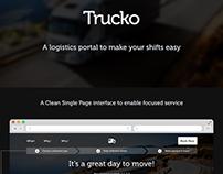 Trucko - Logistics concept