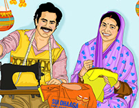 Sui Dhaaga Topical Illustrations