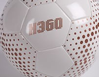 360 Athletics Hybrid Soccer Ball