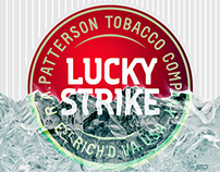 Ice Illustration for Lucky Strike pack