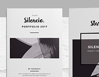 Silencio - Minimal Project Portfolio