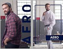 Posters Aero Concept AW 2018   Branding