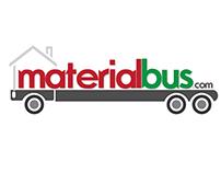 Material Bus Logo Design