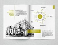 Commercial Real Estate Investment Brochure Design
