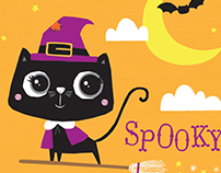 Kids Halloween Illustrations