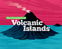 Volcanic Island Formation Science Exhibition and Book