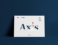 Axis Rocketship Logo