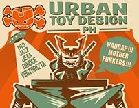 Urban Toy Design PH booth banner