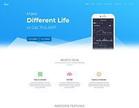 Appland - Mobile App Landing Page