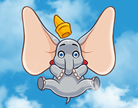 DUMBO. Telegram Stickers — 2019