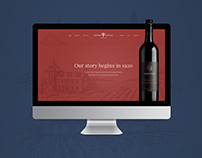 Grand Wines - UI / UX Interface