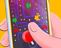 Pacman - The battle of smartphones