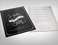 Wedding Invitation Card Template Vol.20