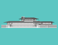 Illustration :: Frank Lloyd Wright Series
