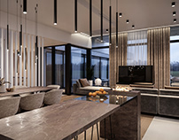 Bulgaru living room CGI