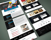 Construction District Web Template