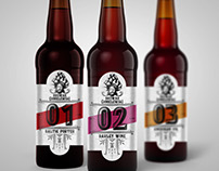 Polish craft beer brand design