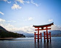 Itsukushima Island Floating Torii Gate