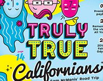 Cover: Truly True Californians
