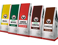 New design for Condor Coffee regular bags