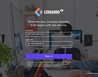 LeonardoCV Web Application