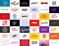 Vector lettering 2015–2019 Volume I