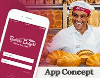 Bakers Delight App Concept UI Kit