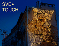 Interactive art installation for architectural heritage