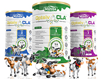 MILVEA Dairy Fresh Illustration