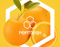 Pepmesh | Logo design