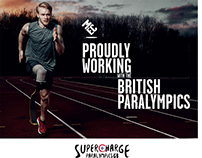 Poster design for The British Paralympics