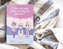 Cartilha impressa sobre sexualidade feminina
