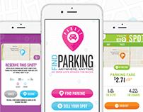 ParxIt App UX/UI