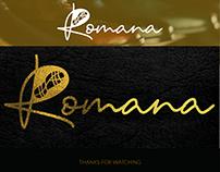 Logotype Romana, Identité Visuelle.