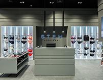 Stem Underwear — Освещение магазина нижнего белья