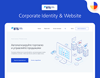 VTB Business Connect Corporate Identity & Website