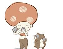 Wonderkitten  Illustration  l  LooGoo & Midnight