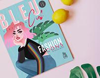 BLEU CIEL // Illustration