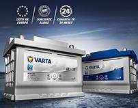 VARTA - Lançamento no Brasil