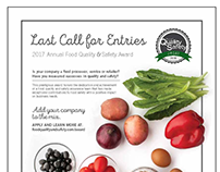 Food Quality and Safety Award 2017