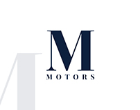 M Motors Stationery Design