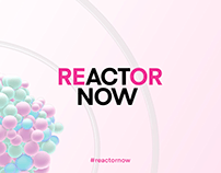 Reactor Now - Modern Nuclear Energy Branding